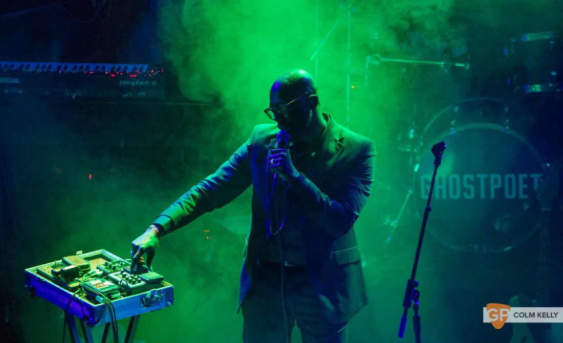 Ghostpoet at The Button Factory, Dublin 24.10.2017 by Colm Kelly-10-84