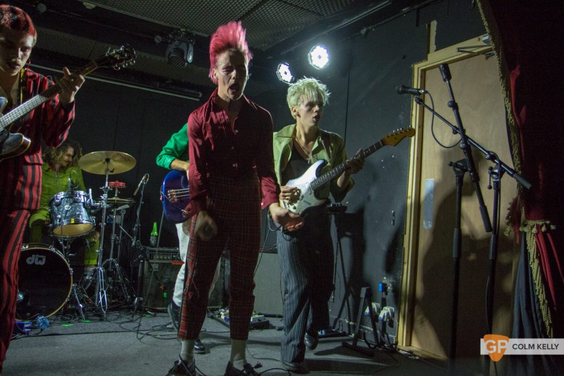 HMLTD at The Workmans Club, Dublin by Colm Kelly-10-56