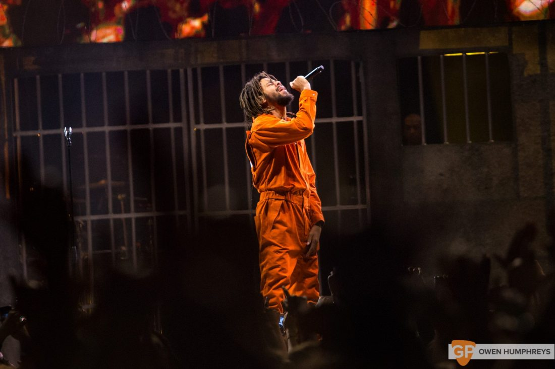J Cole at The 3Arena