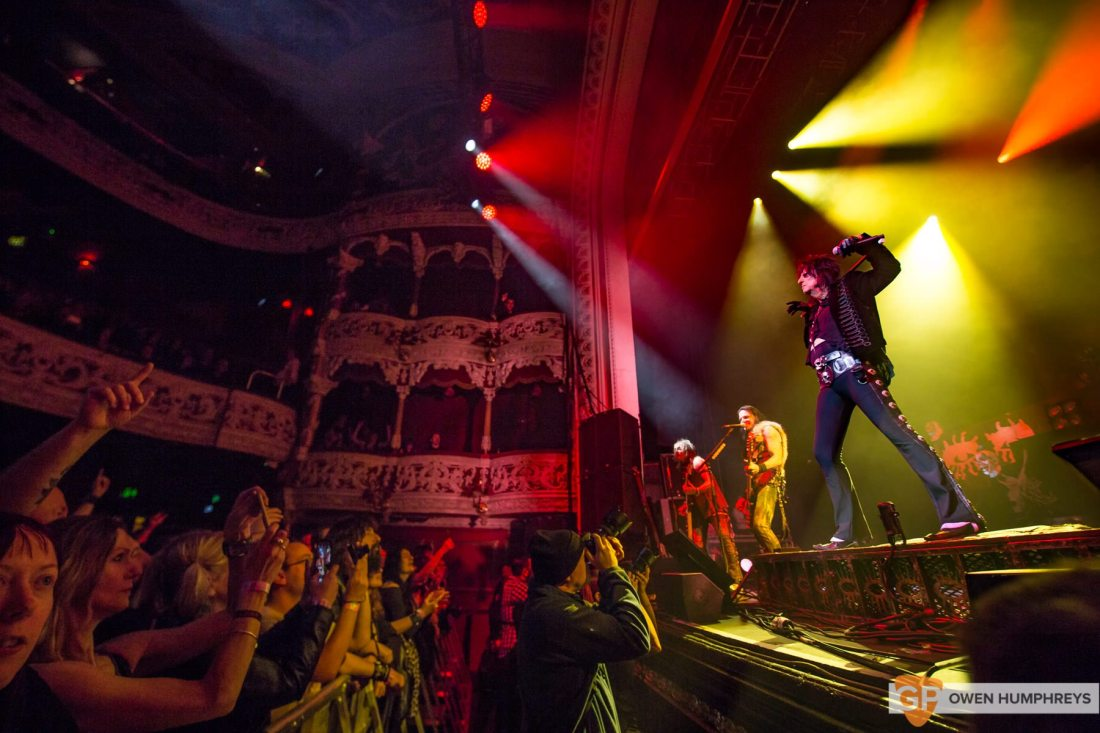 Alice Cooper at The Olympia Theatre by Owen Humphreys-10