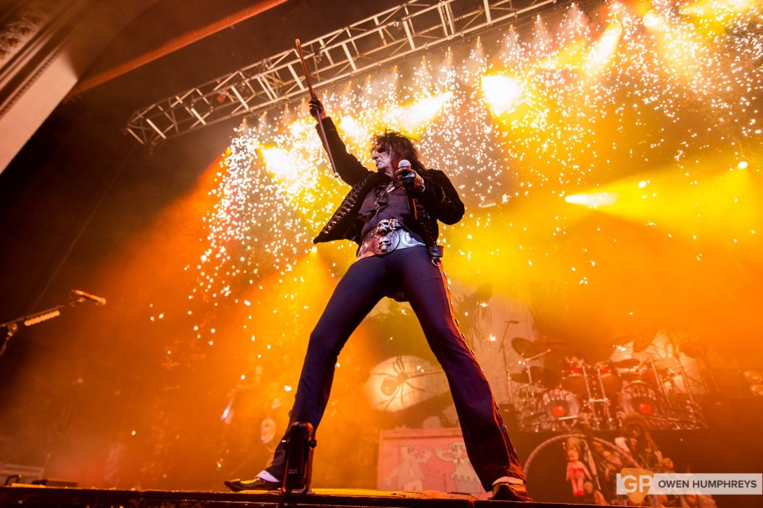 Alice Cooper at The Olympia Theatre by Owen Humphreys-5