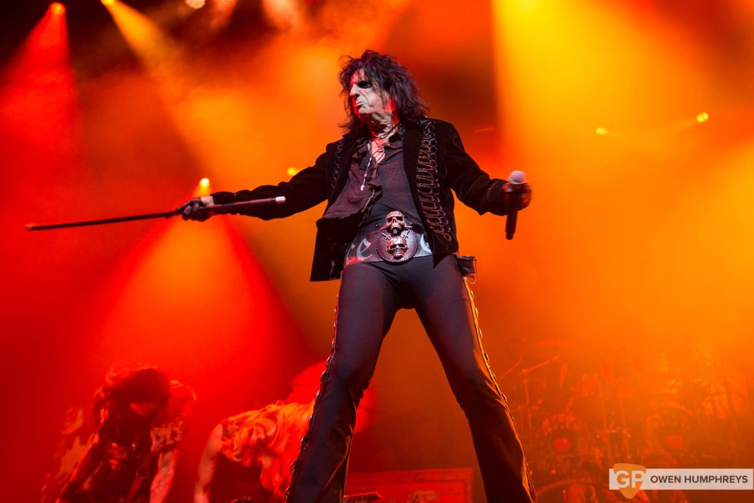 Alice Cooper at The Olympia Theatre by Owen Humphreys-7