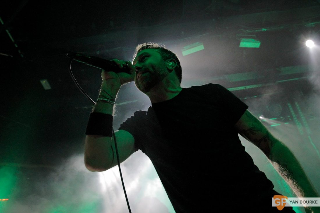 Rise Against at The Academy on 6 November 2017 by Yan Bourke