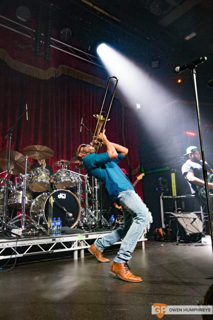Trey 'Trombone Shorty' Andrews & Orleans Avenue at The Academy