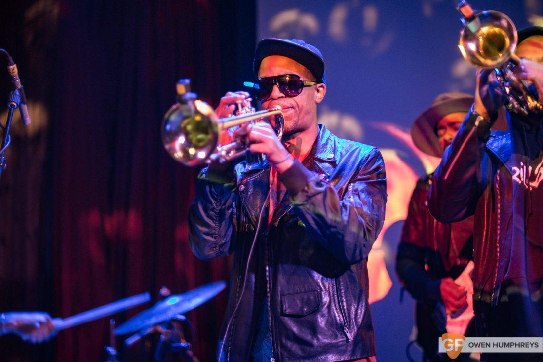 Hypnotic Brass Ensemble at The Sugar Club (8 of 17)
