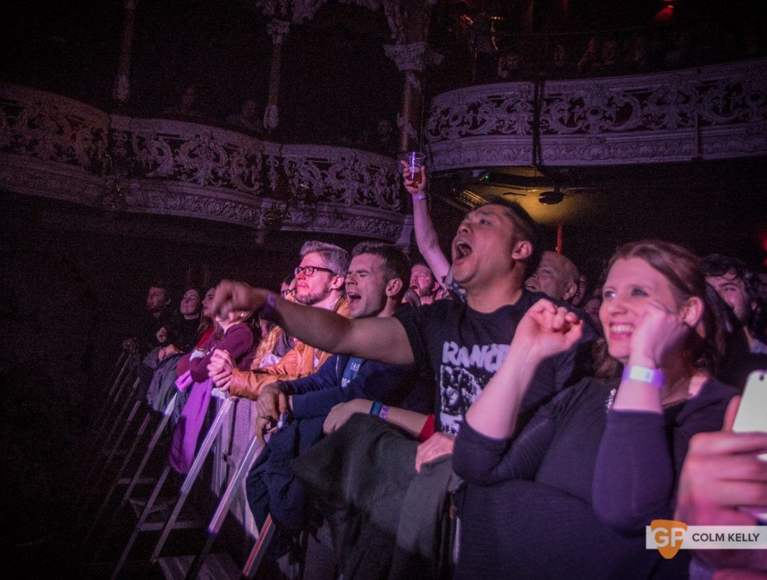 Feeder at The Olympia Theatre, Dublin 21.3.2018 by Colm Kelly-3-55