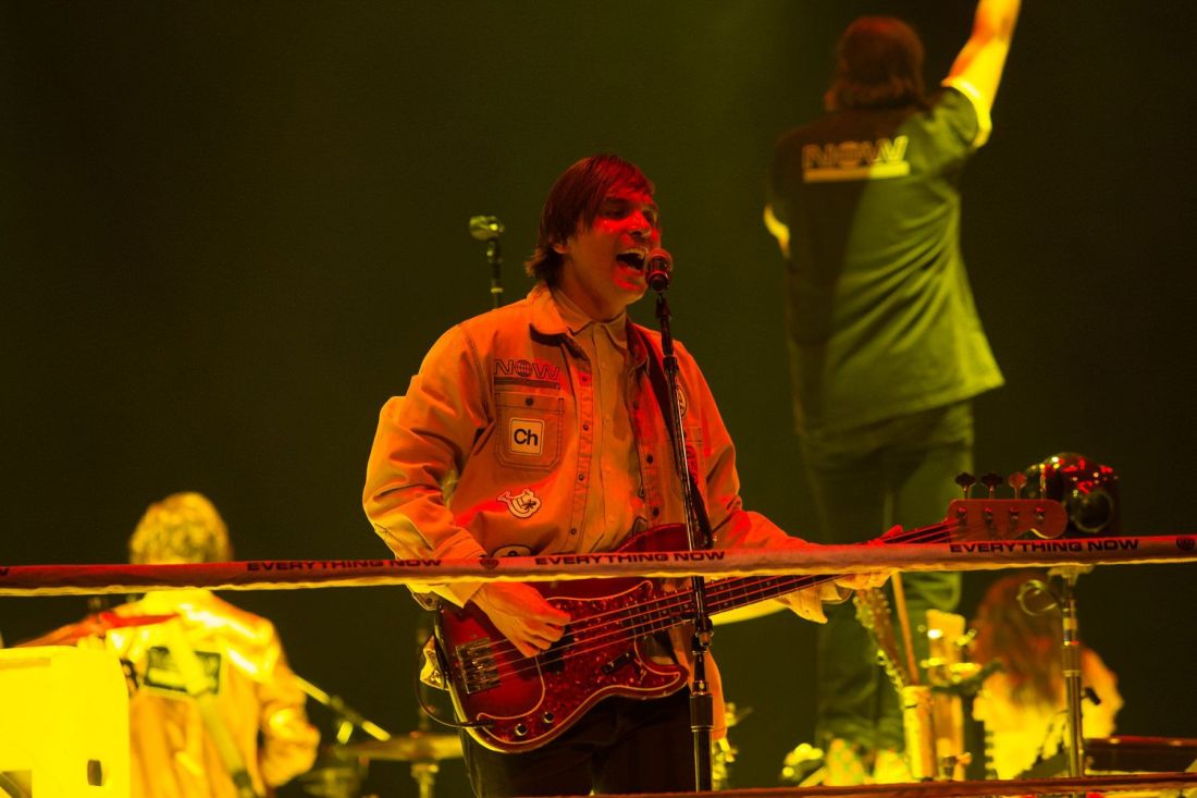 Arcade Fire at the 3Arena. Photo by Owen Humphreys www.owen.ie