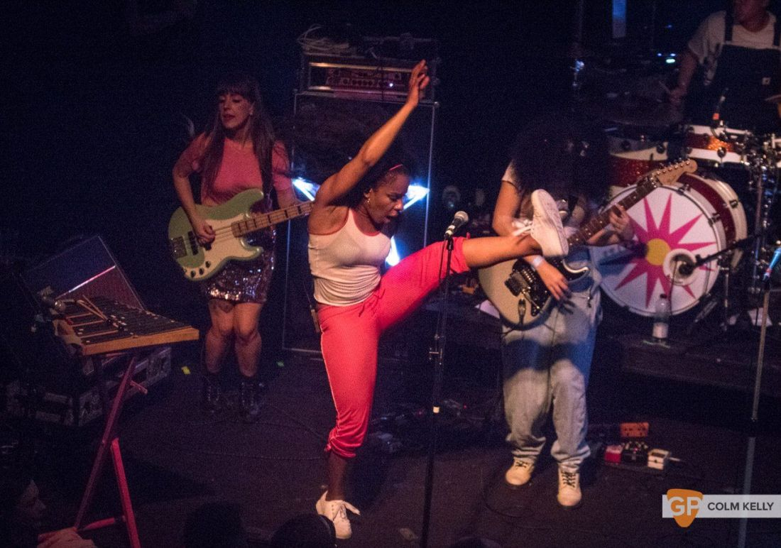 The Go! Team at The Button Factory, Dublin 3.5.2018 by Colm Kelly-5-45