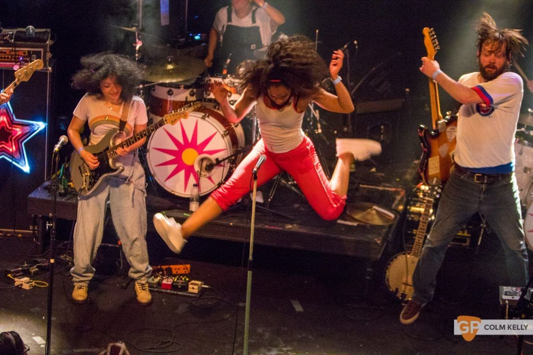 The Go! Team at The Button Factory, Dublin 3.5.2018 by Colm Kelly-5-80