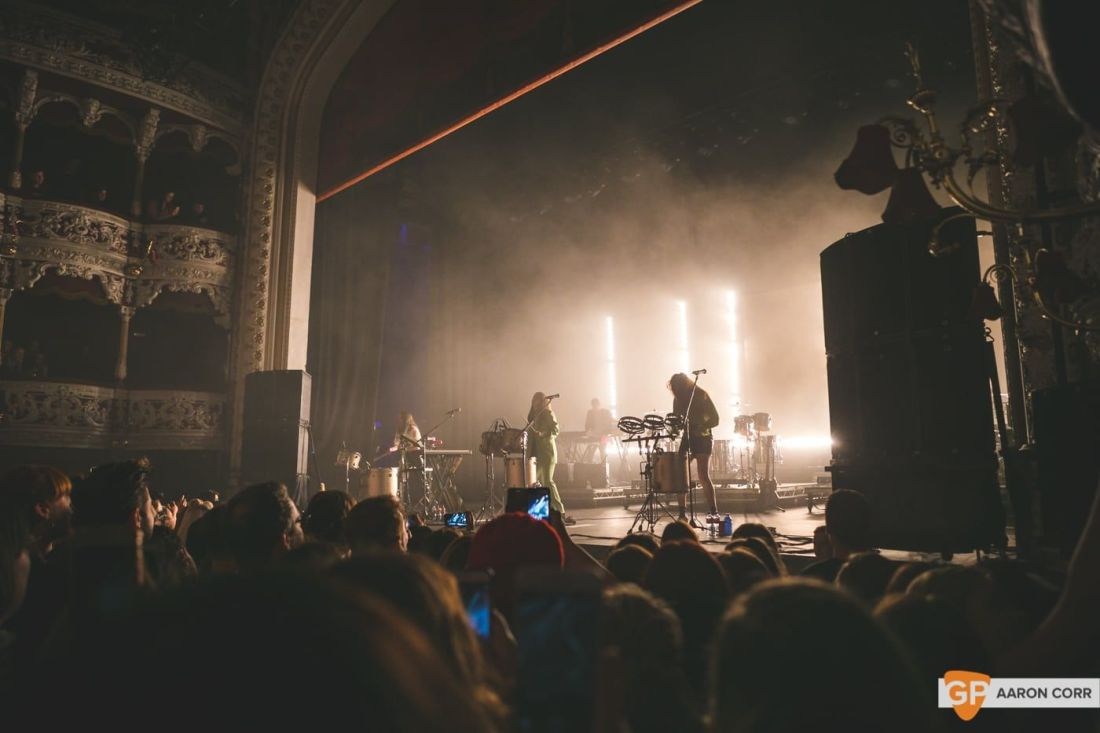 Haim at Olympia by Aaron Corr-1593