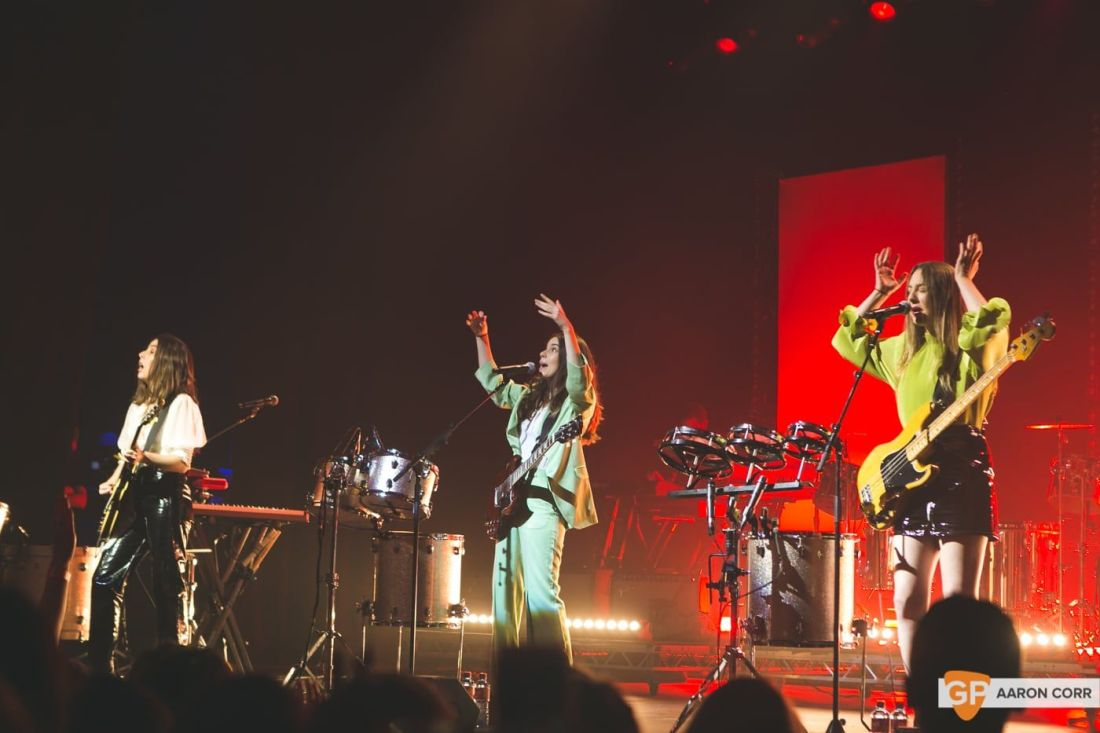 Haim at Olympia by Aaron Corr-1626