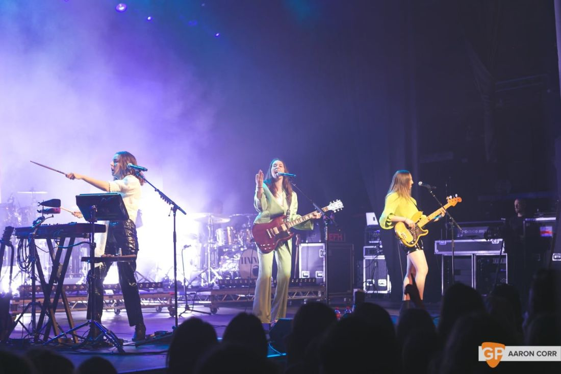 Haim at Olympia by Aaron Corr-1649