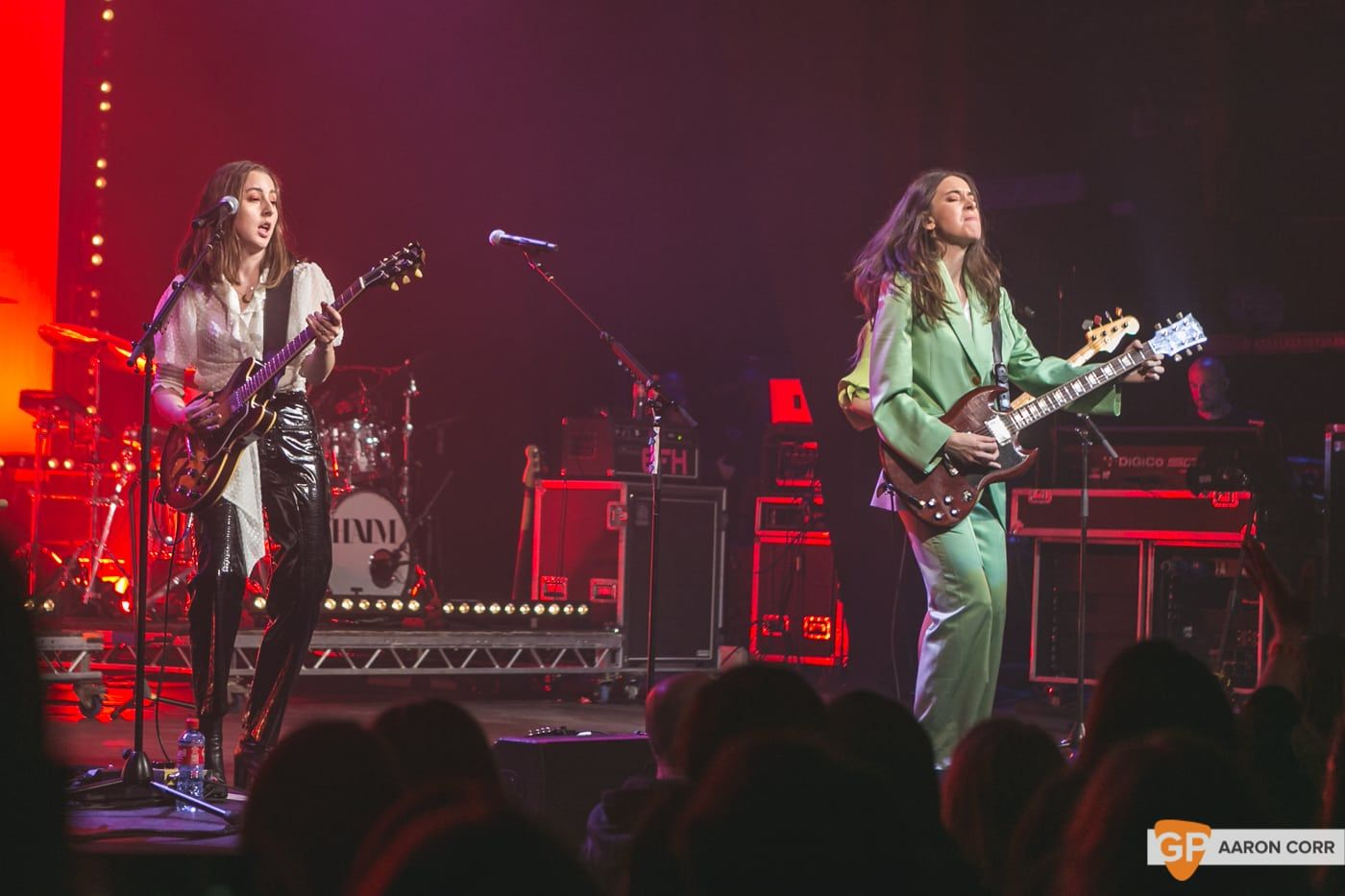 Haim at Olympia by Aaron Corr-1688