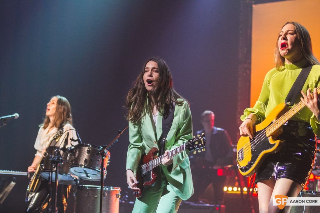 Haim at Olympia by Aaron Corr-2035