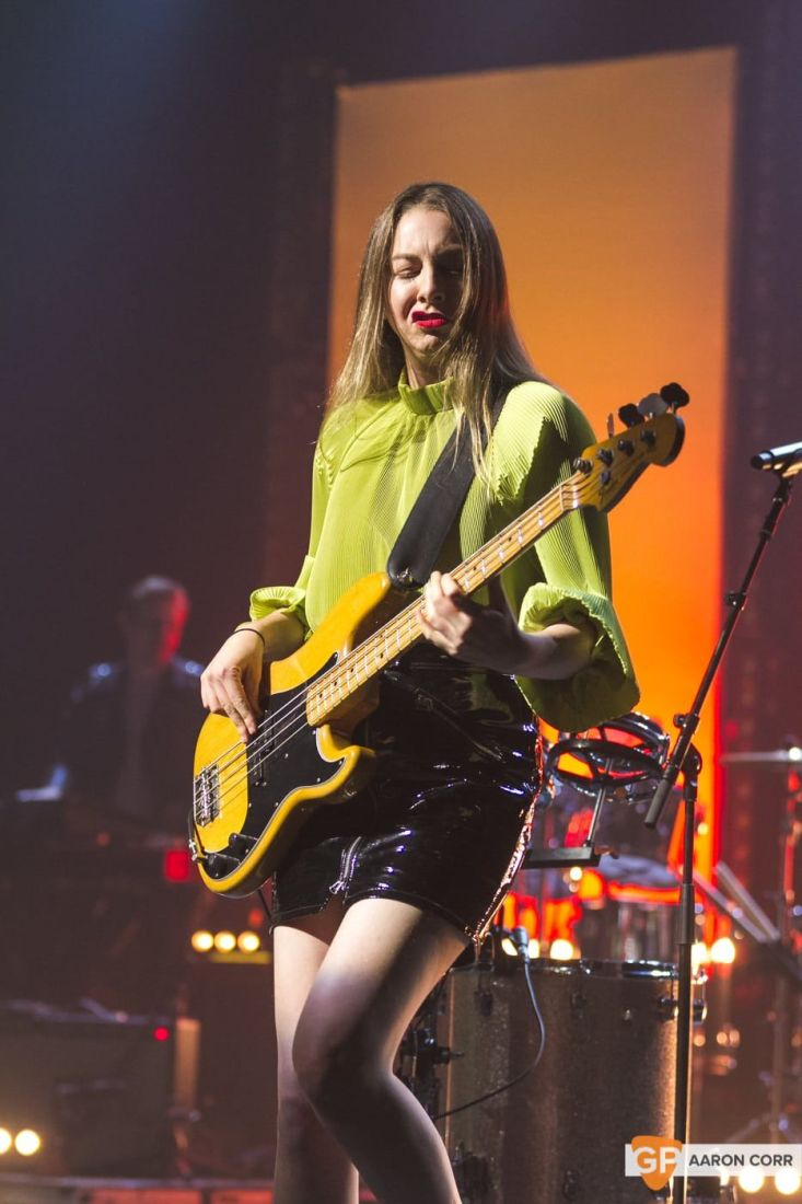 Haim at Olympia by Aaron Corr-2048