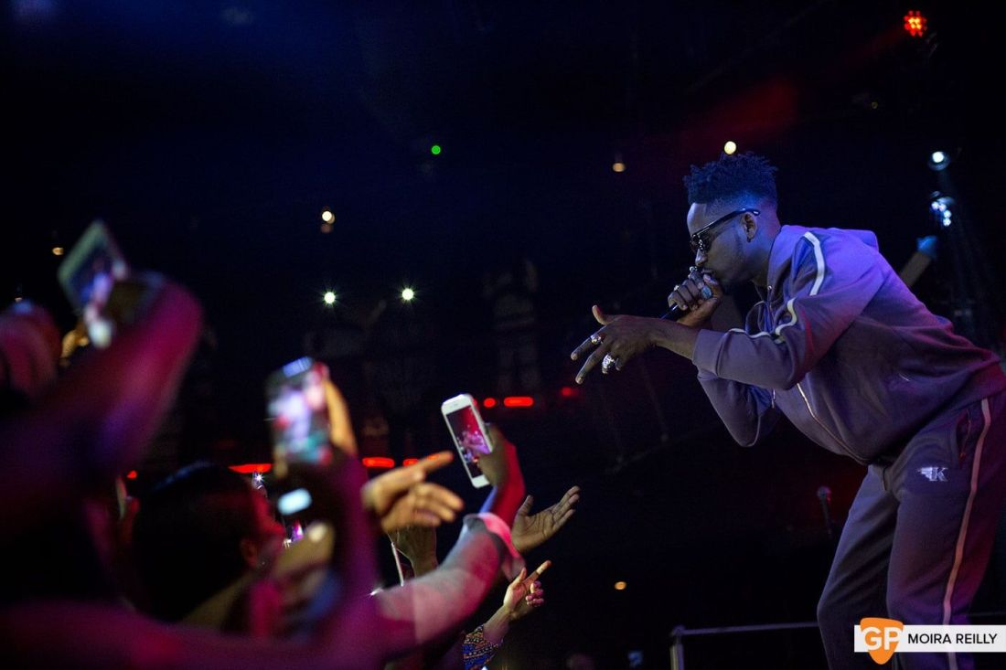 Mr Eazi at The Academy by Moira Reilly