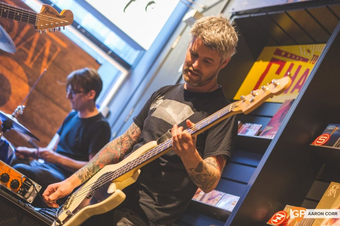 Bitch Falcon Vinyl Launch in Tower Records by Aaron Corr-3009