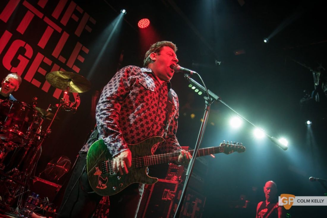 Stiff Little Fingers at The Academy, Dublin 24.8.2018 by Colm Kelly-1522