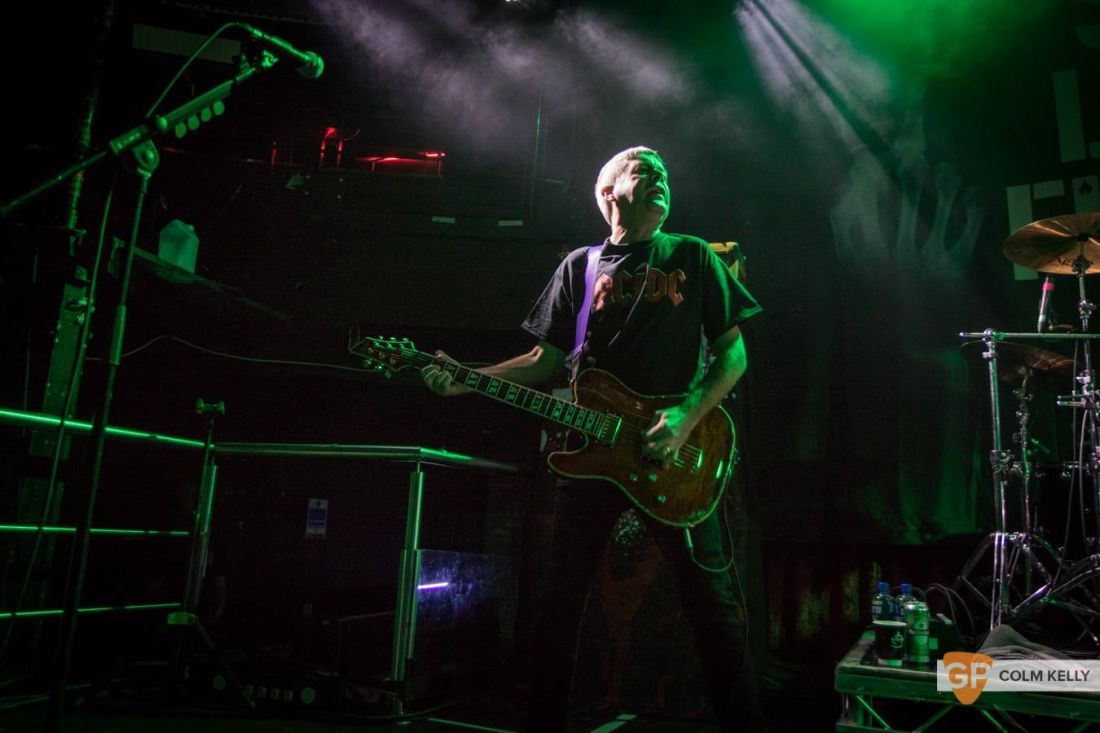 Stiff Little Fingers at The Academy, Dublin 24.8.2018 by Colm Kelly-1751