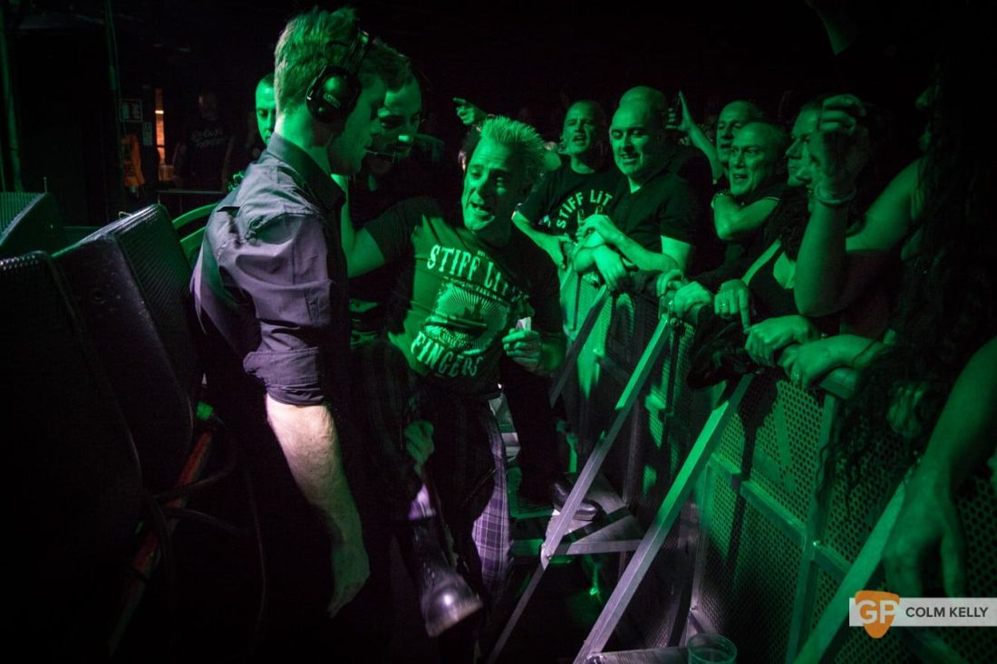 Stiff Little Fingers at The Academy, Dublin 24.8.2018 by Colm Kelly-1801