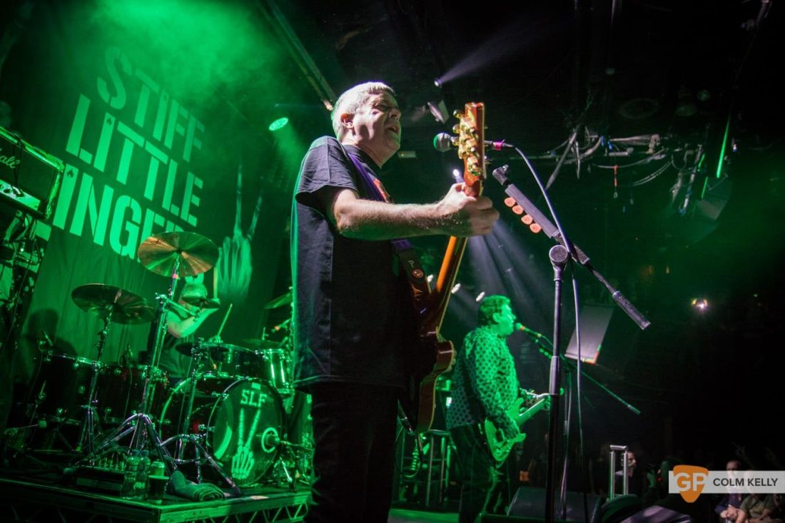 Stiff Little Fingers at The Academy, Dublin 24.8.2018 by Colm Kelly-2071