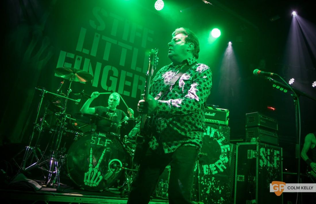 Stiff Little Fingers at The Academy, Dublin 24.8.2018 by Colm Kelly-2107