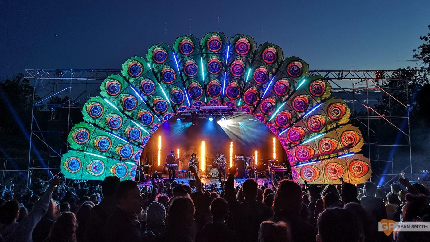 Main Stage of Knockanstockan Music Festival