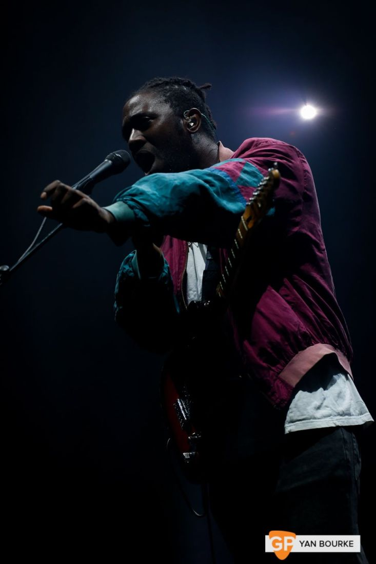 Bloc Party at the 3Arena on 22 October 2018 by Yan Bourke