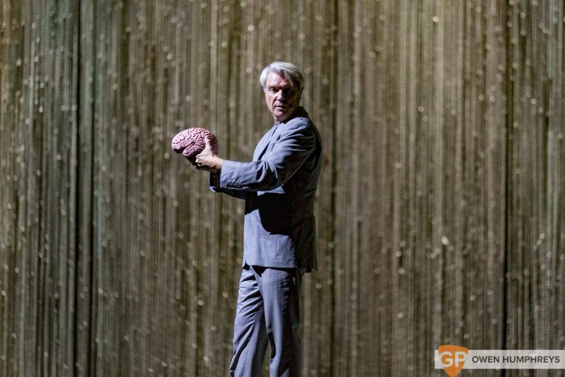David Byrne at The 3Arena. Photo by Owen Humphreys www.owen.ie