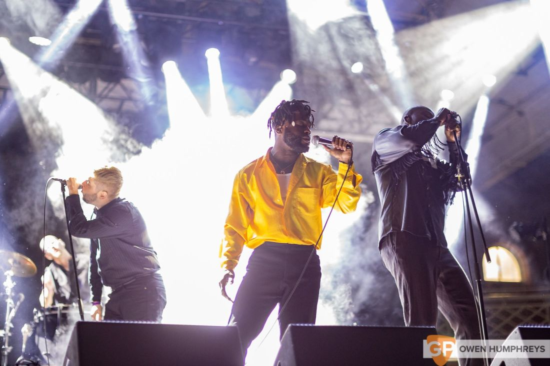 Young Fathers live at Metropolis 2018. Photo by Owen Humphreys www.owen.ie