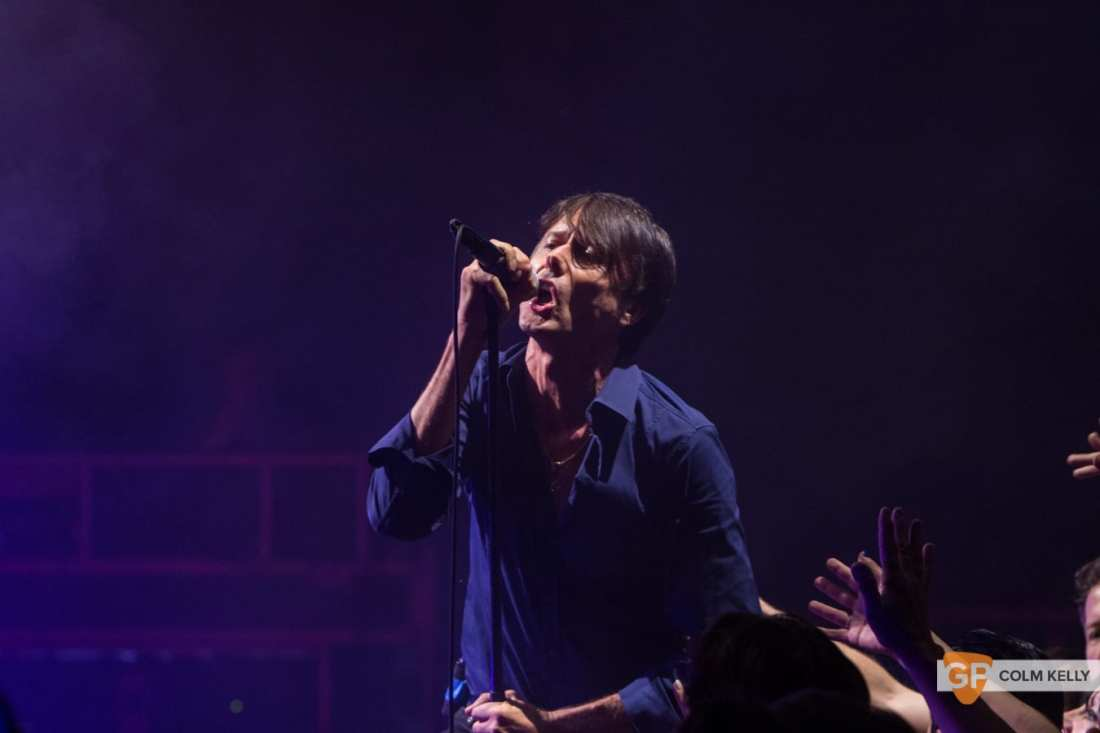 Suede at The Bord Gais Energy Theatre, Dublin by Colm Kelly-1531