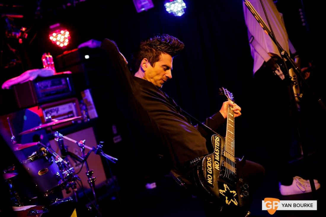 Anti-Flag in Whelan's on 6 November 2018 by Yan Bourke