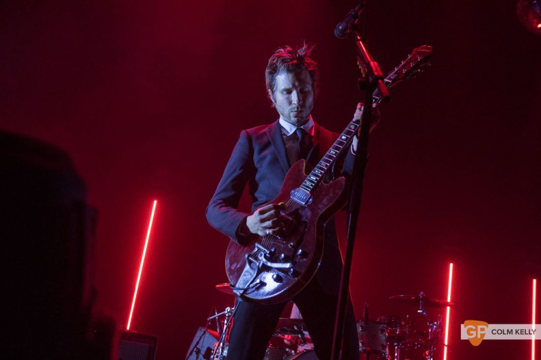 Interpol at The Olympia Theatre, Dublin by Colm Kelly-103