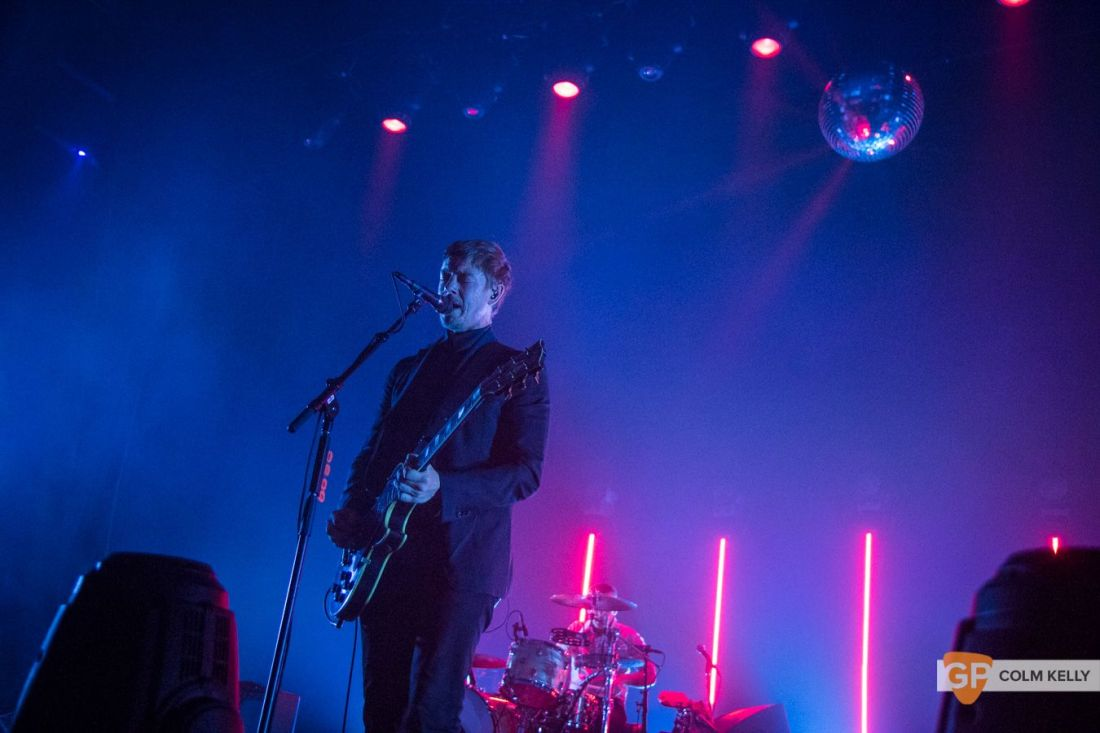 Interpol at The Olympia Theatre, Dublin by Colm Kelly-156