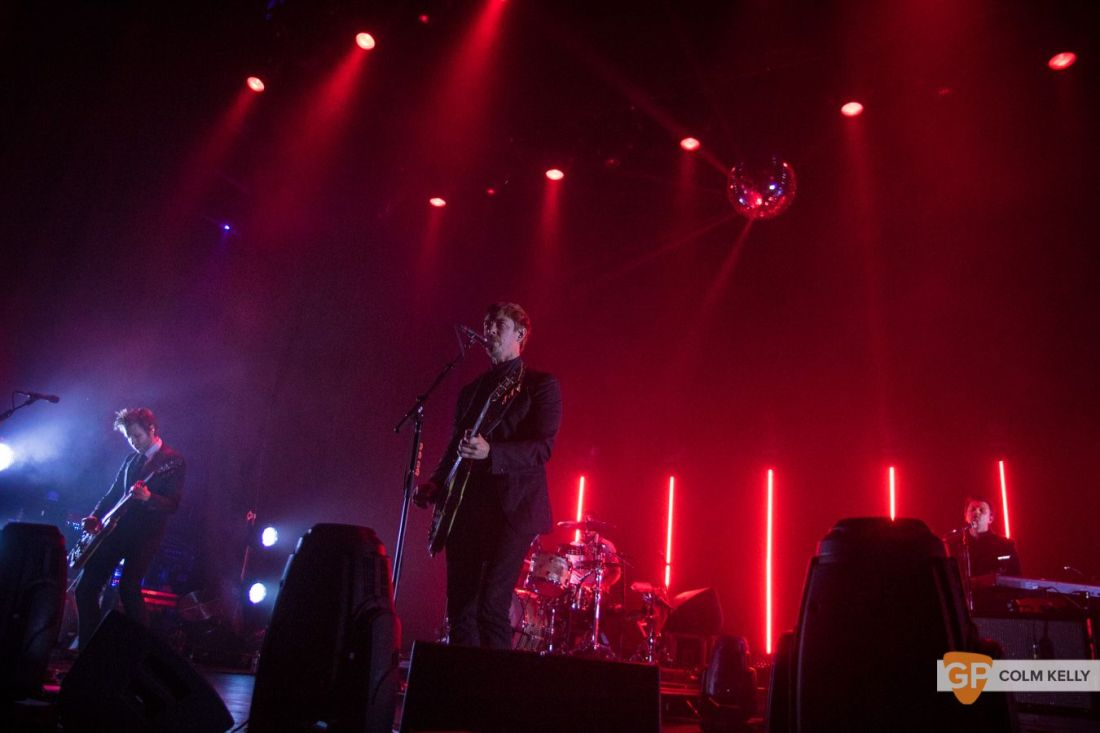 Interpol at The Olympia Theatre, Dublin by Colm Kelly-166