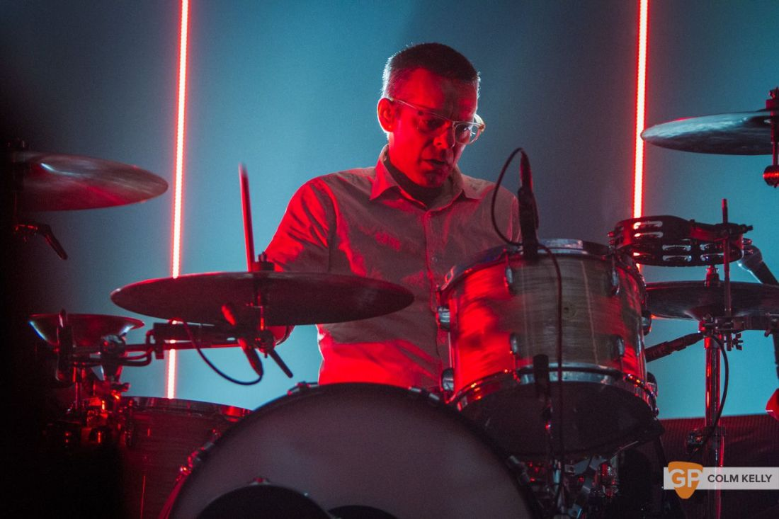 Interpol at The Olympia Theatre, Dublin by Colm Kelly-208