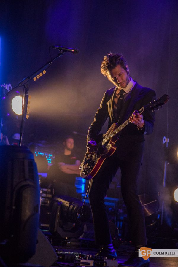 Interpol at The Olympia Theatre, Dublin by Colm Kelly-25