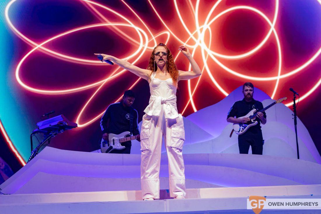 Jess Glynne at the 3Arena. Photo by Owen Humphreys www.owen.ie