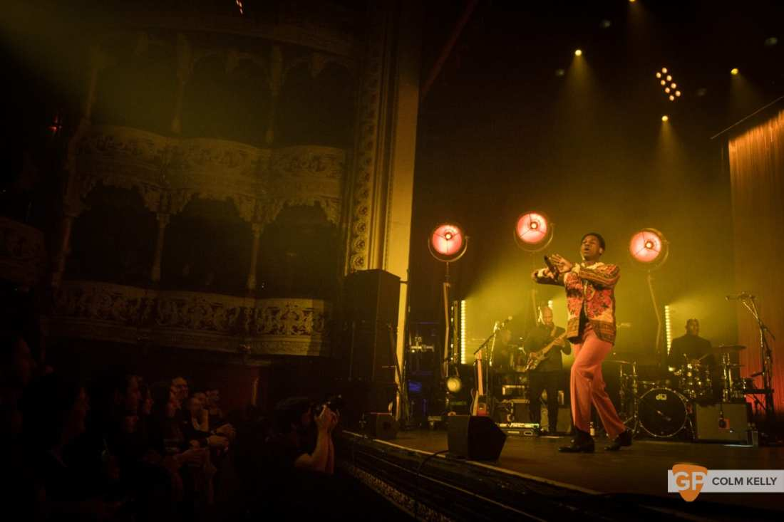 Leon Bridges at The Olympia Theatre, Dublin by Colm Kelly-1007
