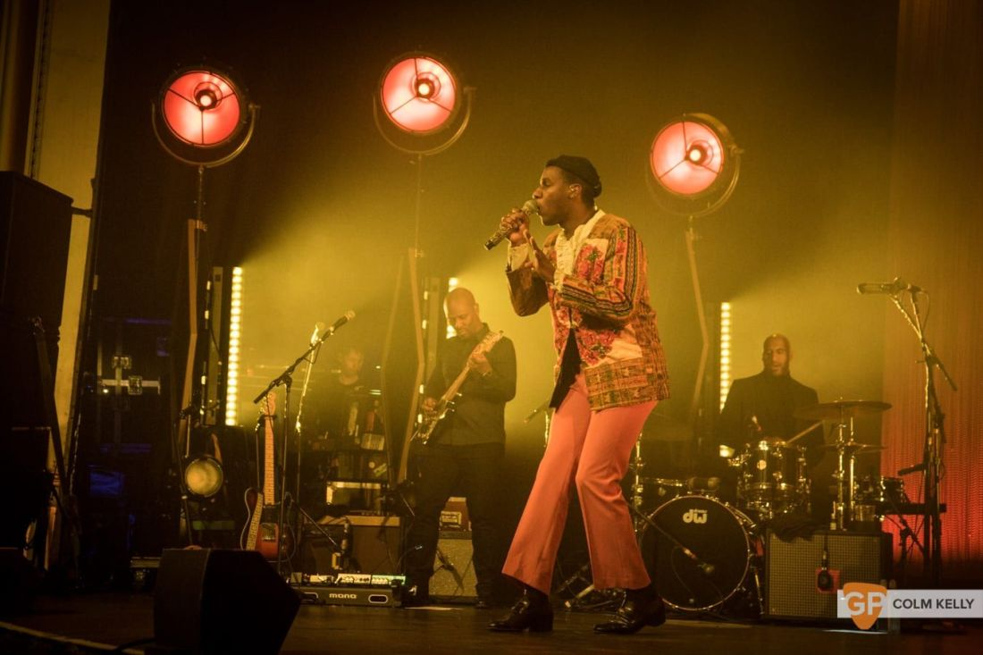 Leon Bridges at The Olympia Theatre, Dublin by Colm Kelly-1074