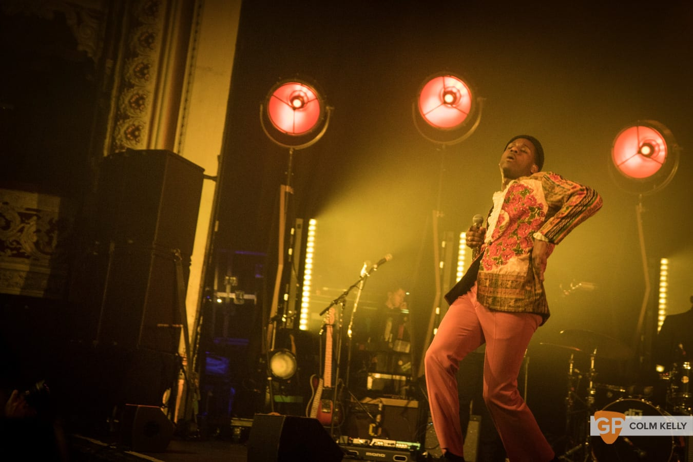 Leon Bridges at The Olympia Theatre, Dublin by Colm Kelly-1109