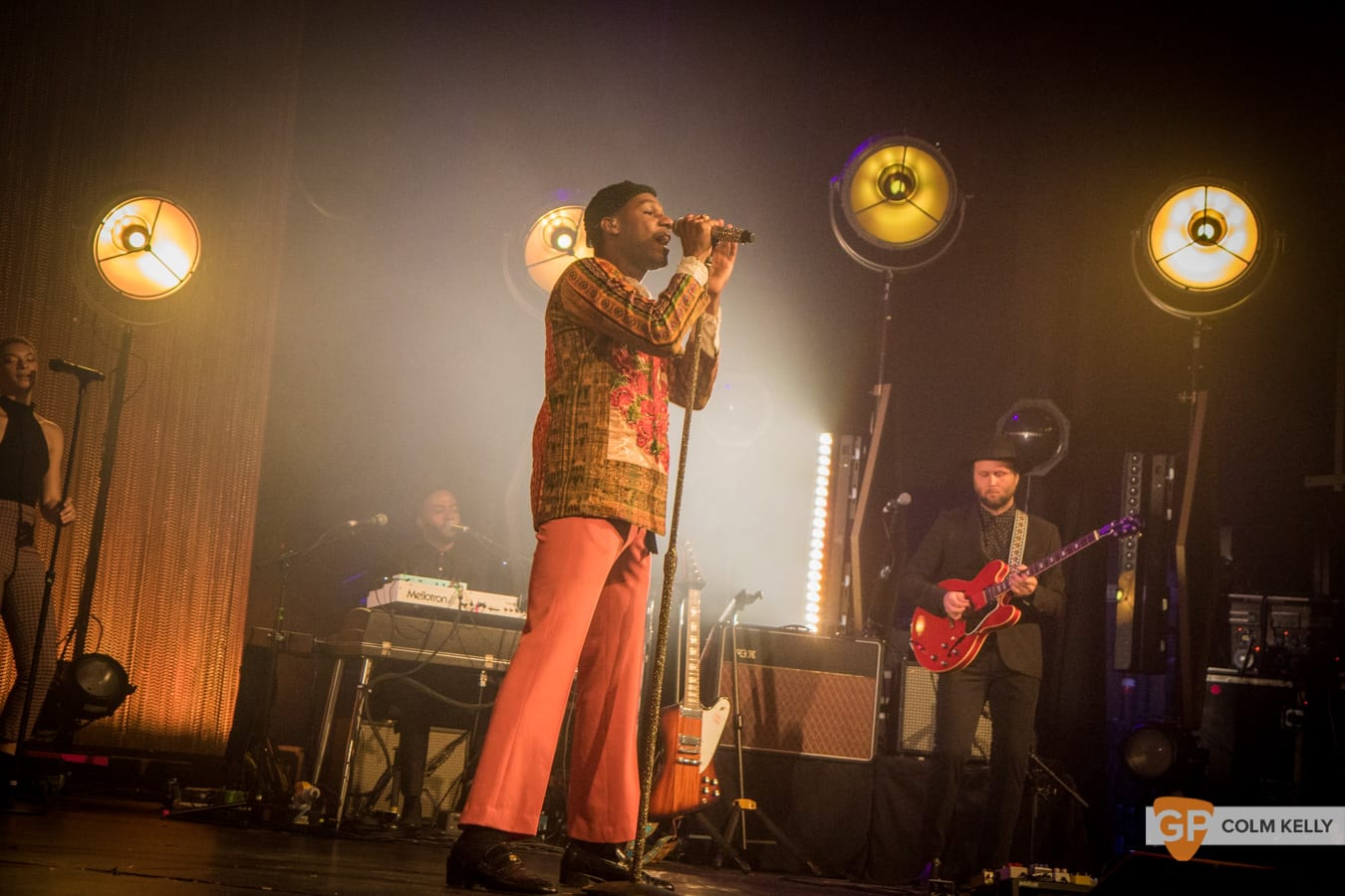 Leon Bridges at The Olympia Theatre, Dublin by Colm Kelly-155