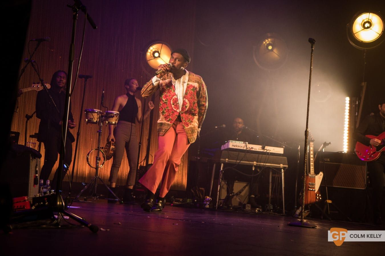 Leon Bridges at The Olympia Theatre, Dublin by Colm Kelly-392