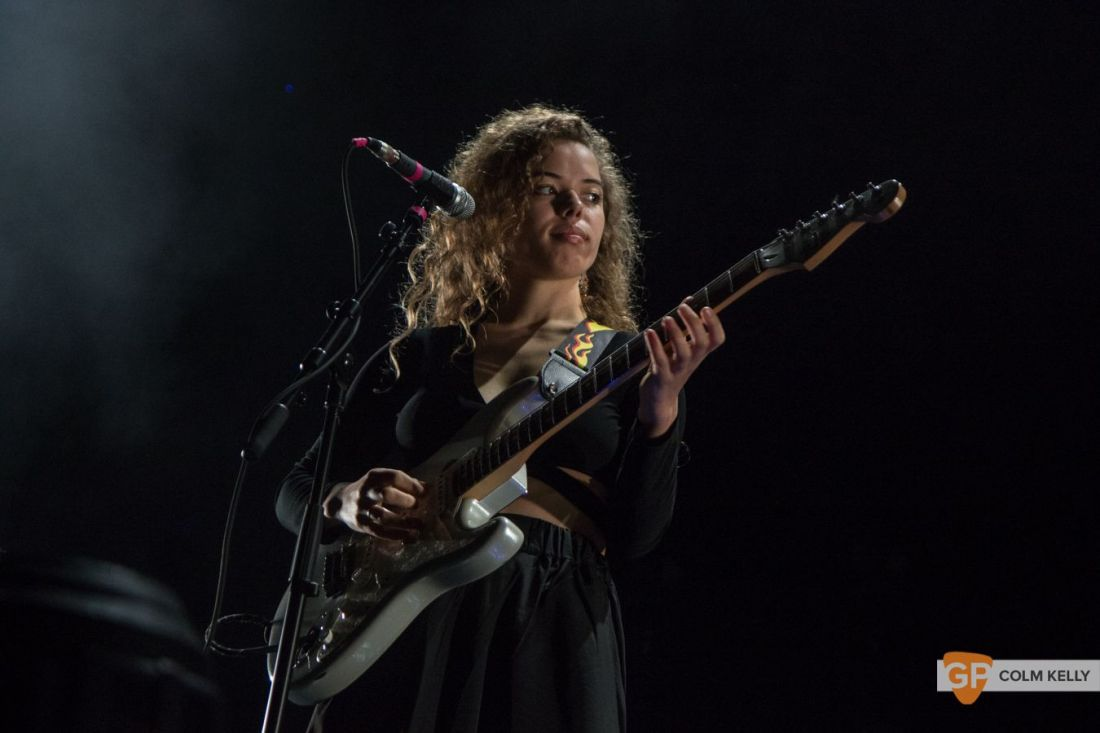 Nilufer Yanya at The Olympia Theatre, Dublin by Colm Kelly