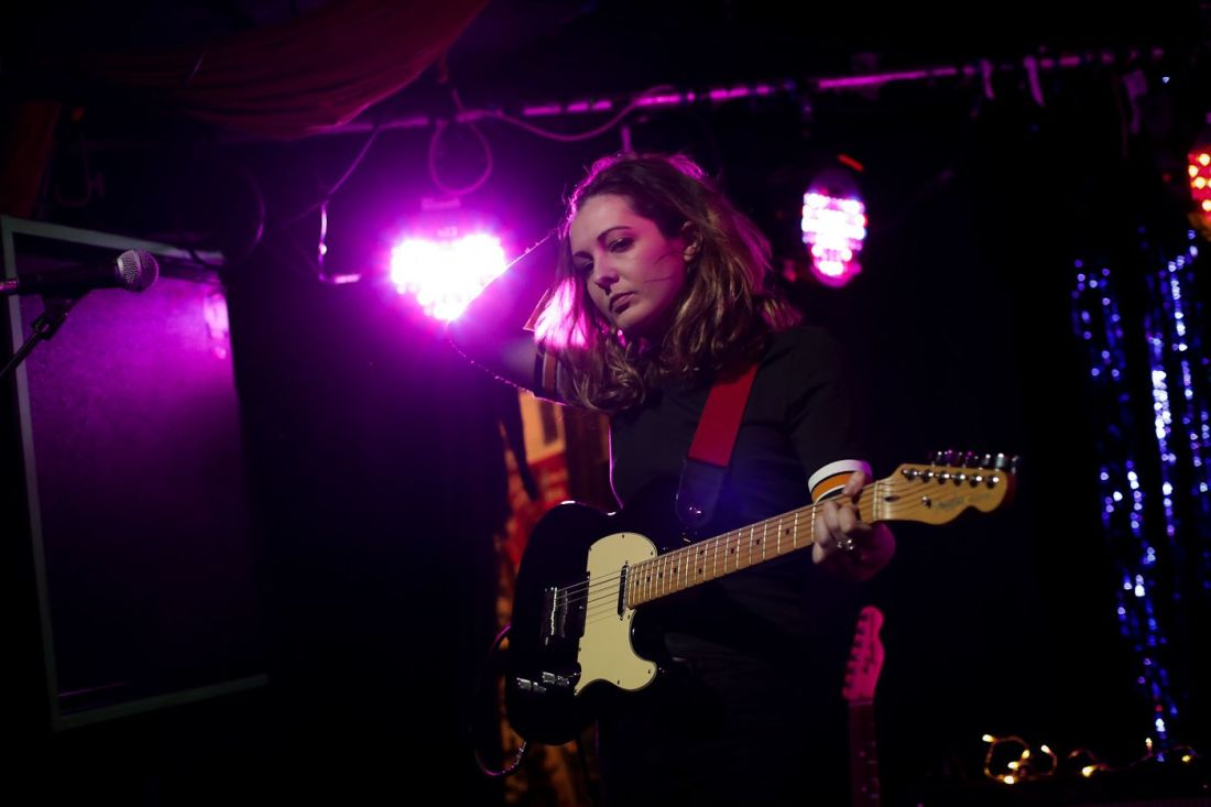 Pillow Queens at Whelan's on 24 Novewmber 2018 by Yan Bourke