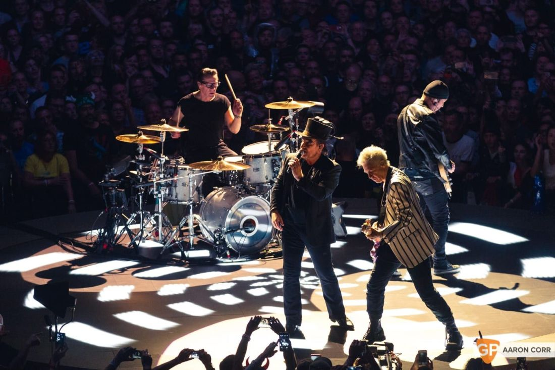 U2 at 3Arena by Aaron Corr-2890