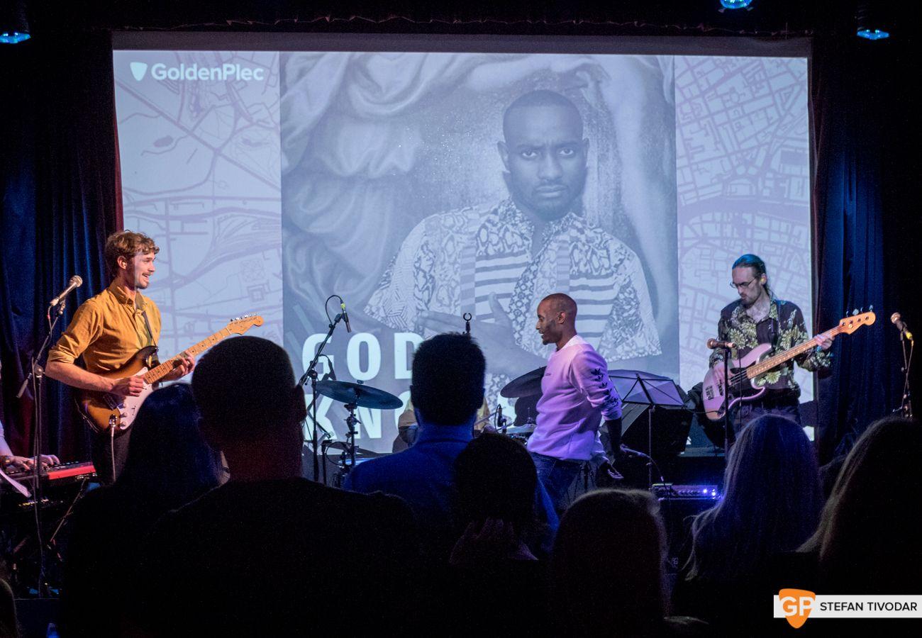 God Knows GoldenPlec Bloc Party Jam 2018 Sugar Club 2
