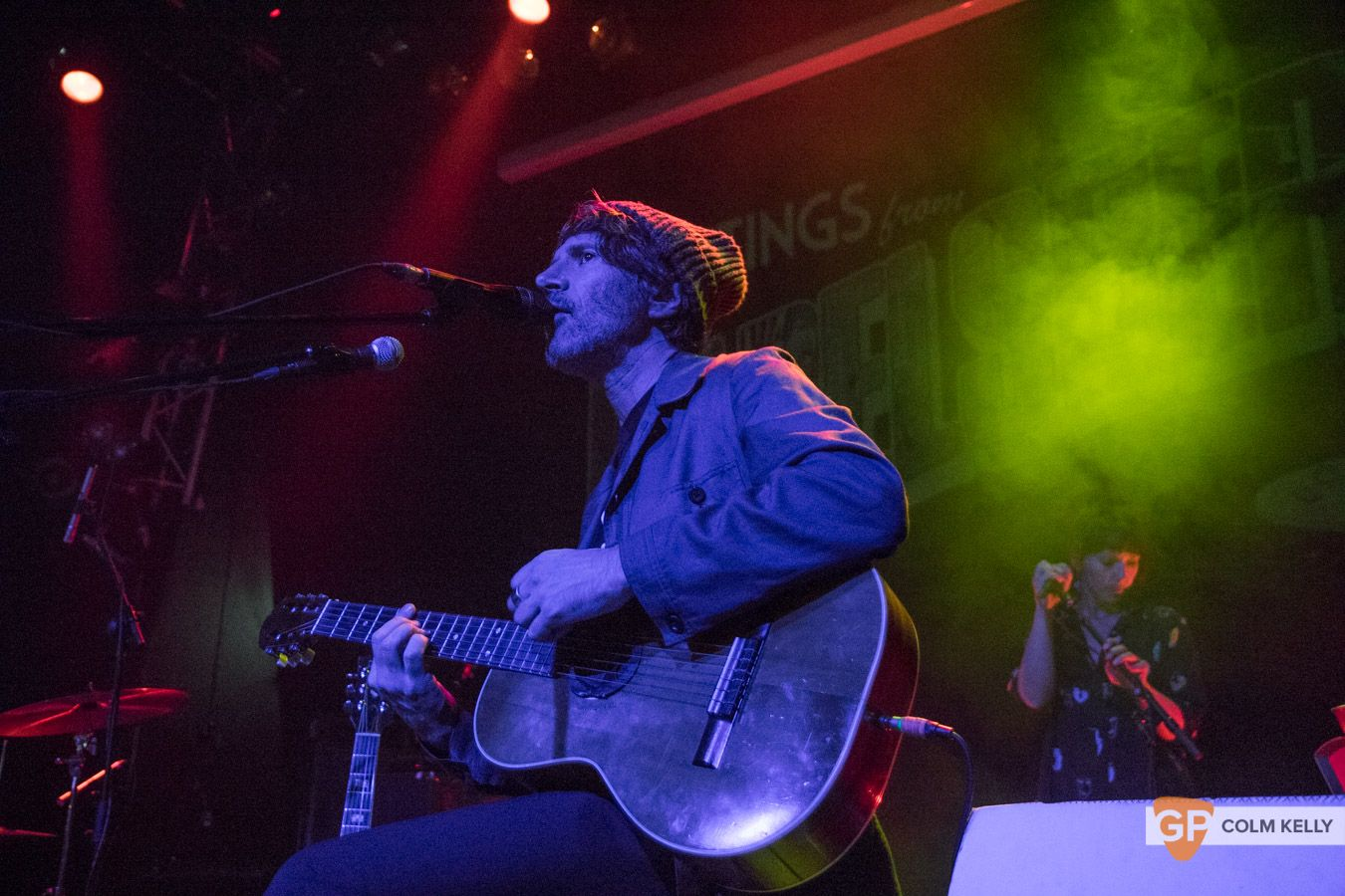 Gruff Rhys at The Button Factory, Dublin by Colm Kelly-129