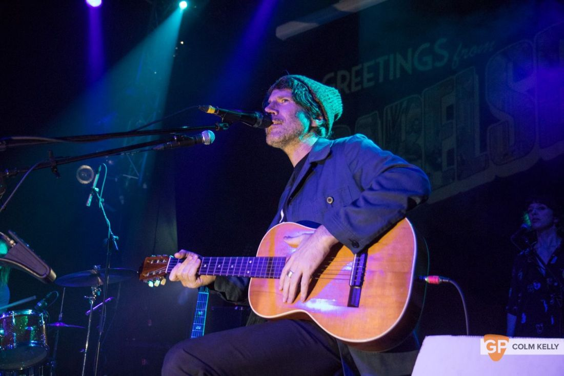 Gruff Rhys at The Button Factory, Dublin by Colm Kelly-24