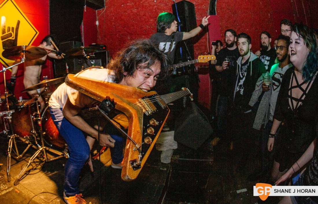 Electric Eel Shock, Fred Zepplins, Shane J Horan, 16-2-19-1